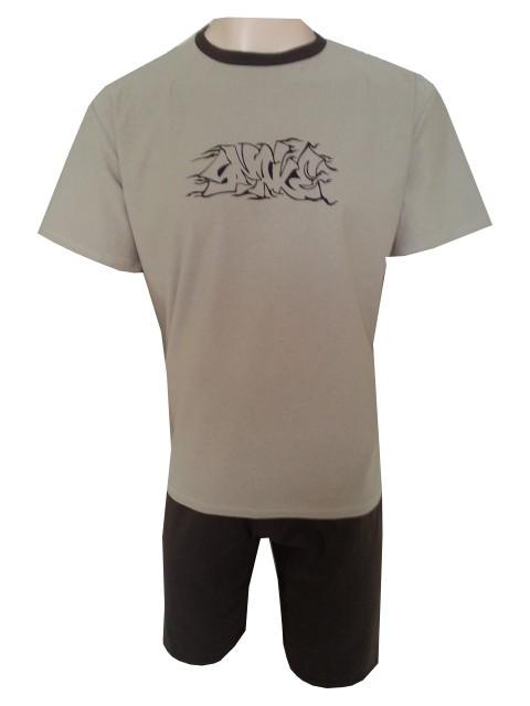 Pánské Pyžamo Krátké FOLTÝN PK 52 Velikost: 2XL