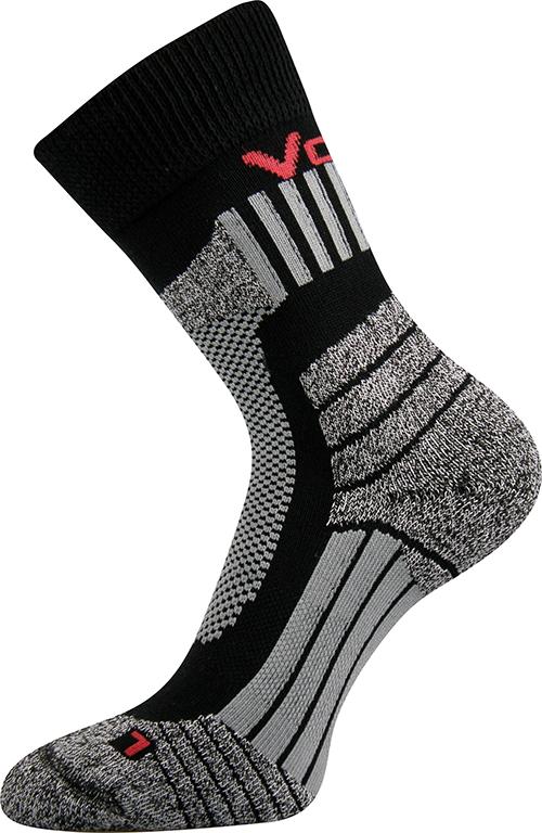 Sportovní Ponožky VoXX Egoist černá Velikost: 46-48
