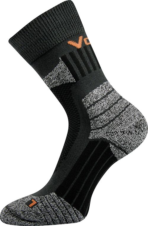 Sportovní Ponožky VoXX Egoist tmavě šedá Velikost: 46-48