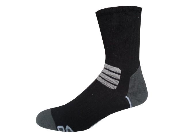 Sportovní Ponožky NOVIA Thermo černobílá Velikost: 44-45