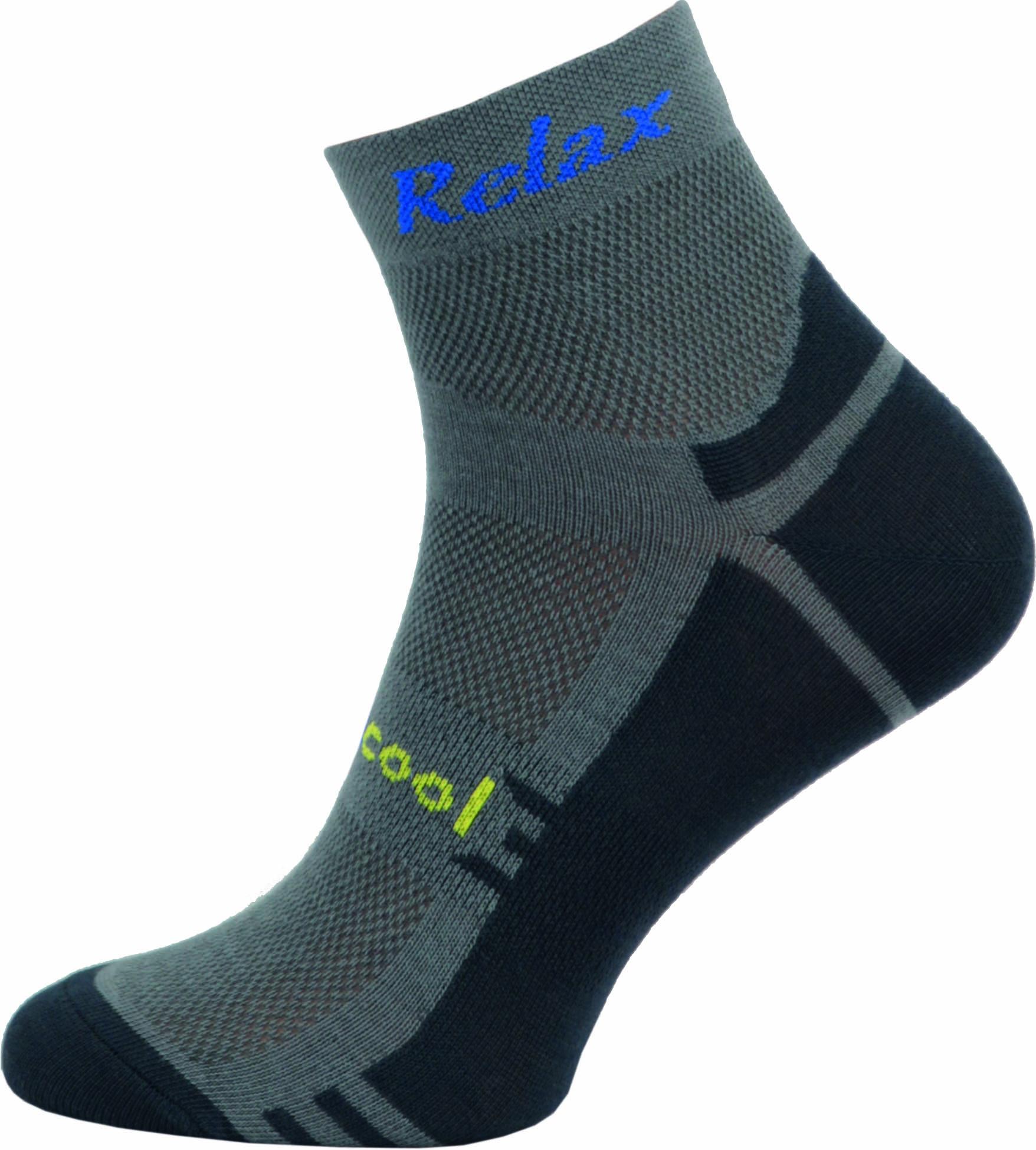 Sportovní Ponožky NOVIA RELAX šedá Velikost: 44-45