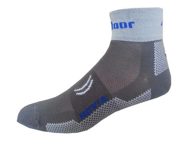 Sportovní Ponožky Novia Sport Collections Outdoor šedá Velikost: 38-39