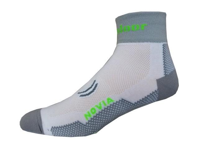 Sportovní Ponožky Novia Sport Collections Outdoor Bílá Velikost: 38-39
