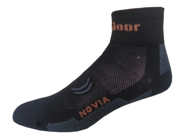 Sportovní Ponožky Novia Sport Collections Outdoor černá Velikost: 38-39