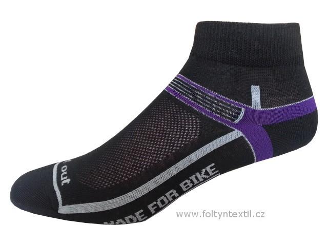 Sportovní Ponožky NOVIA Cyklo 03 Velikost: 44-45