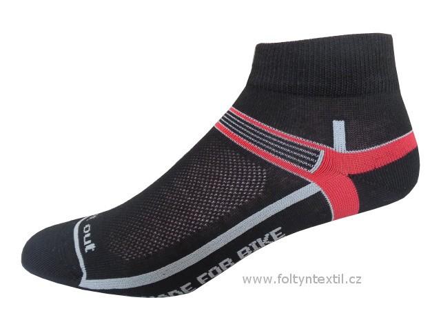 Sportovní Ponožky NOVIA Cyklo 02 Velikost: 44-45