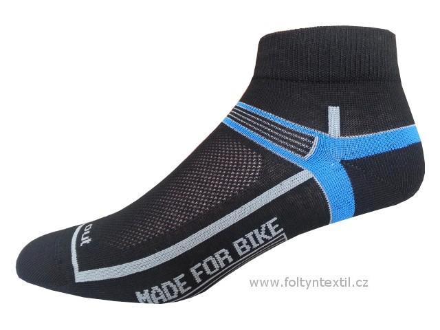 Sportovní Ponožky NOVIA Cyklo 01 Velikost: 44-45