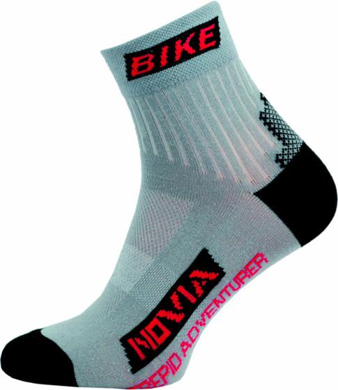 Sportovní Ponožky NOVIA Bike 04 Velikost: 44-45