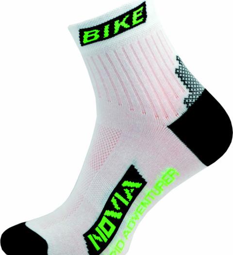 Sportovní Ponožky NOVIA Bike 02 Velikost: 44-45