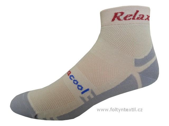 Sportovní Ponožky NOVIA RELAX 04 Velikost: 44-45