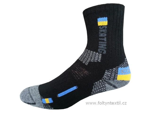 Sportovní Ponožky NOVIA Thermo Skating 02 Velikost: 44-45