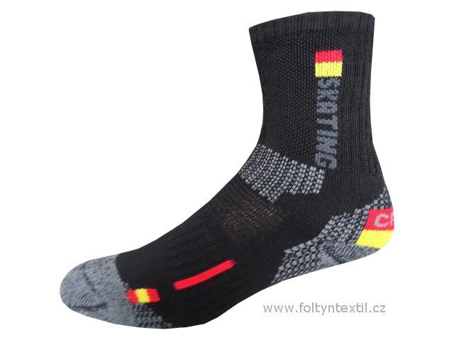 Sportovní Ponožky NOVIA Thermo Skating 01 Velikost: 44-45