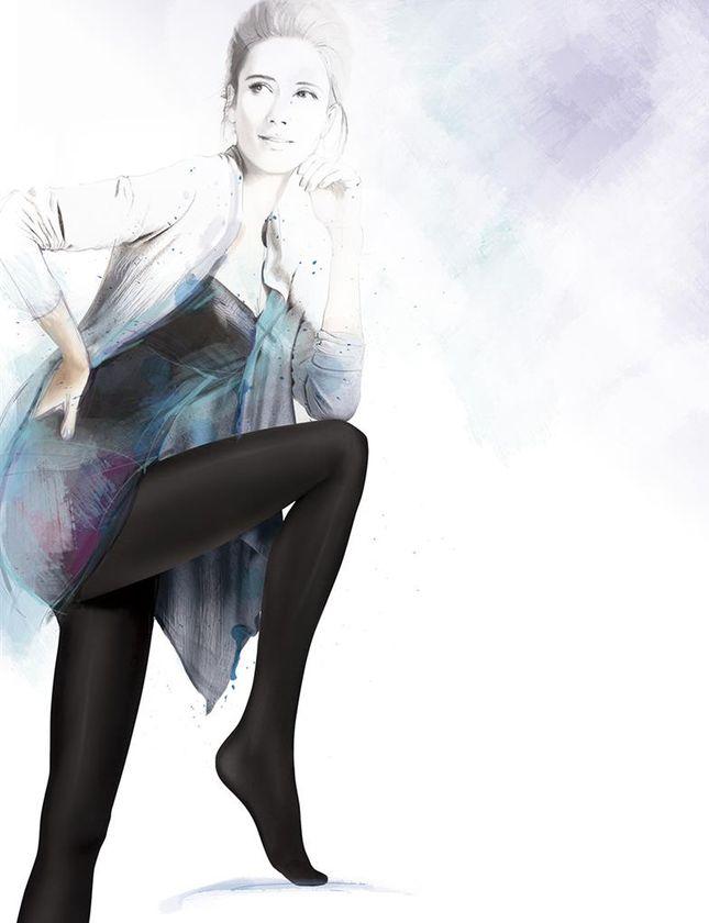 Punčochové kalhoty GATTA SATTI MATTI 90 DEN Barva: černá, Velikost: 2