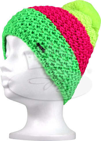 dámská čepice VoXX Avalanche neon zelená