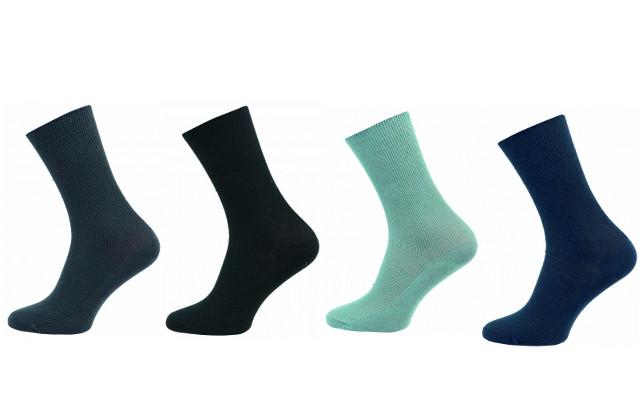 Zdravotní ponožky 4 páry v balení Novia Medik mix barev Velikost: 40-41