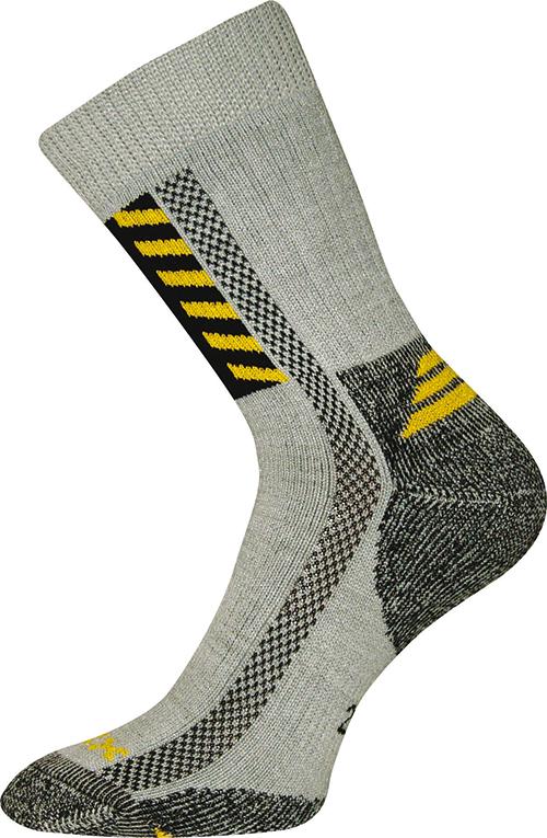 Pracovní Ponožky VoXX Power work světle šedá Velikost: 39-42