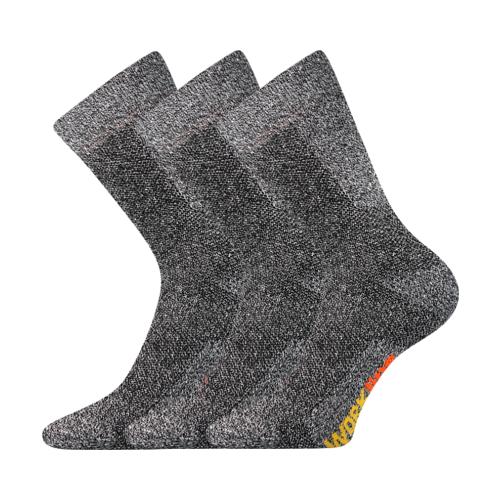 Pracovní Ponožky VoXX Pracan muline 3 páry v balení Velikost: 39-42