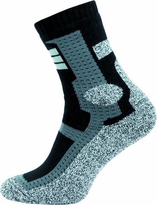 Thermo Ponožky NOVIA Cross šedé Velikost: 44-45
