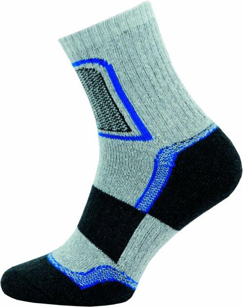 Ponožky NOVIA Trek- světle šedé Velikost: 44-45