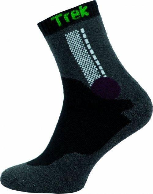 Ponožky NOVIA Trek- tmavě šedé Velikost: 44-45