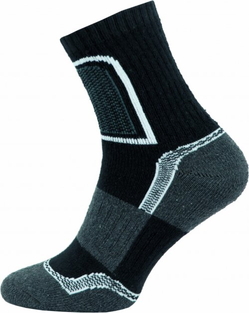 Ponožky NOVIA Trek- černé Velikost: 44-45