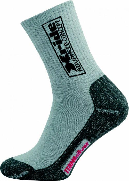 Sportovní Ponožky NOVIA Silvertex Xride šedé Velikost: 44-45