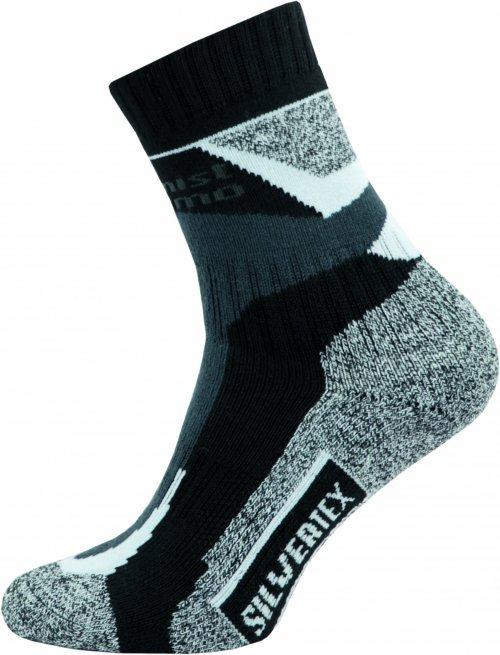 Sportovní Ponožky NOVIA Silvertex Alpinning šedé Velikost: 44-45