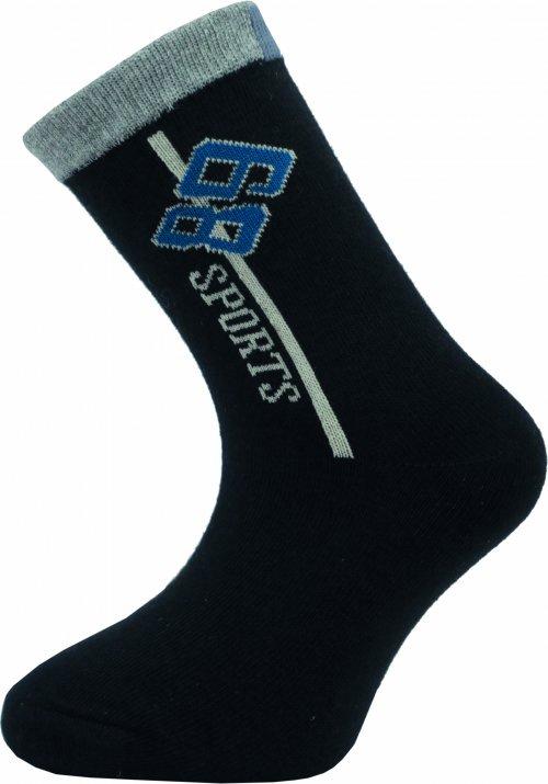 Dětské kotníkové ponožky Novia 135N 4 páry v balení mix vzorů Velikost: 20-24