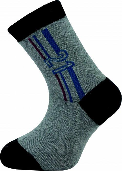 Dětské kotníkové ponožky Novia 136N 4 páry v balení mix vzorů Velikost: 20-24
