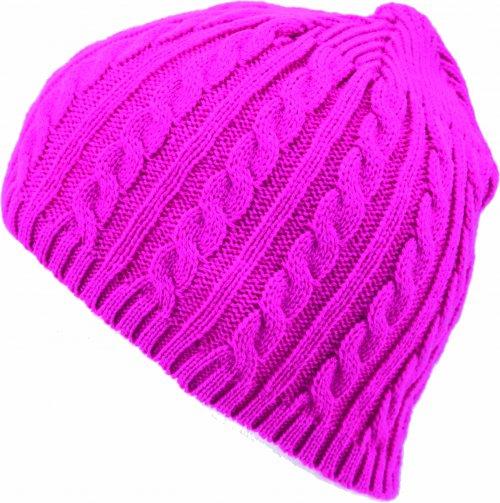 dámská čepice Novia N004 růžová