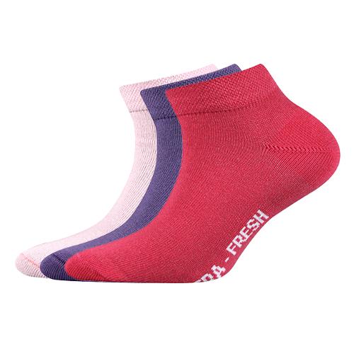 Dětské ponožky 3 kusy v balení VoXX Čeněk mix A Velikost: 20-24