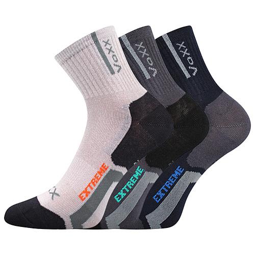 Dětské bambusové ponožky 3 kusy v balení VoXX Josífek mix chlapecké Velikost: 20-24