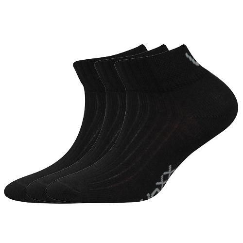 Dětské ponožky 3 kusy v balení VoXX Setra černé Velikost: 20-24