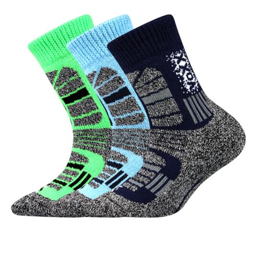 Dětské thermo ponožky 3 kusy v balení VoXX Traction chlapecké Velikost: 20-24