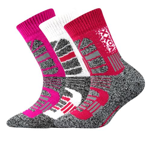 Dětské thermo ponožky 3 kusy v balení VoXX Traction dívčí Velikost: 20-24
