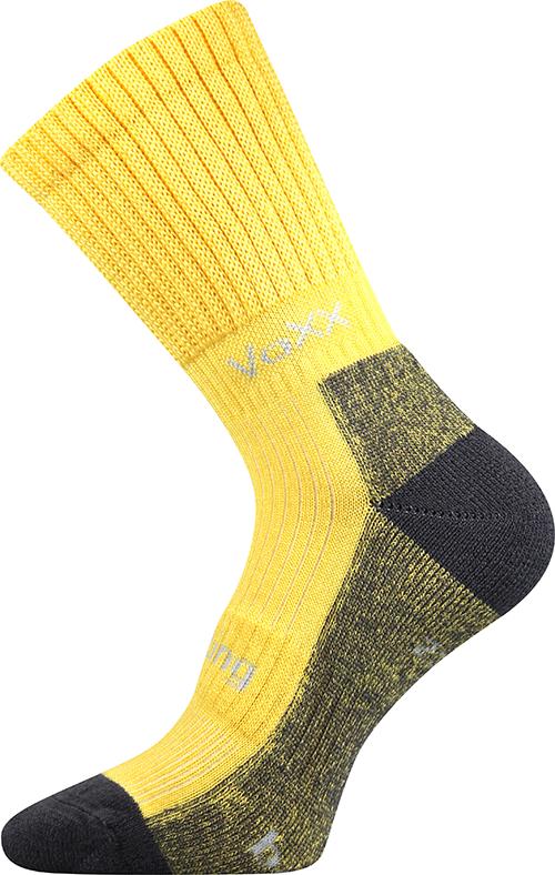 Bambusové Sportovní Ponožky VoXX Bomber žlutá Velikost: 39-42