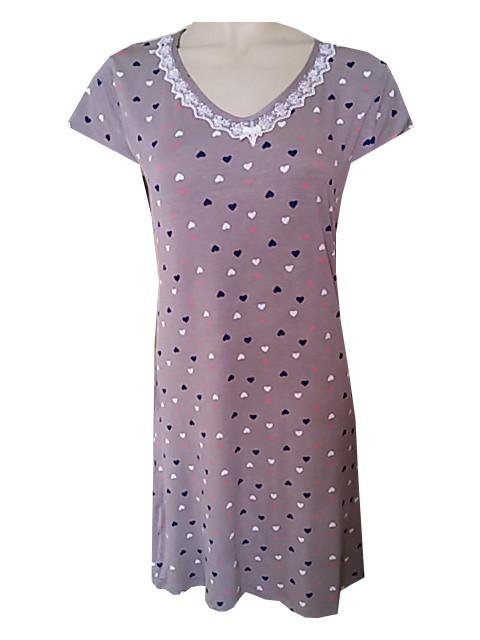 Dámská Noční Košile Cocoon Secret COC 797 KG Velikost: XL