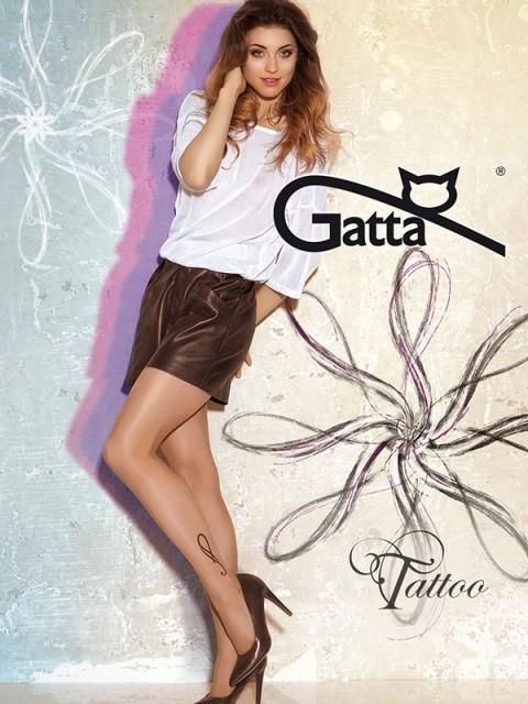 Punčochové kalhoty GATTA Tattoo 23 Barva: černá, Velikost: 2