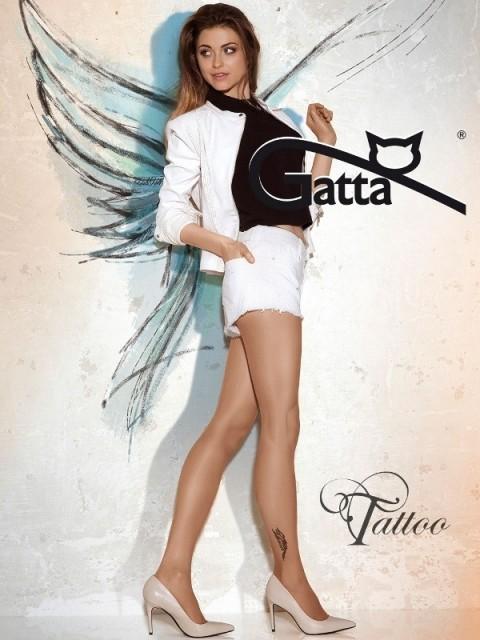 Punčochové kalhoty GATTA Tattoo 22 Barva: černá, Velikost: 2