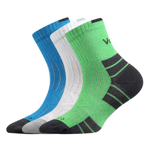Dětské bambusové ponožky 3 kusy v balení VoXX Belkinik mix barev C Velikost: 20-24