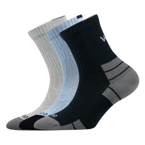 Dětské bambusové ponožky 3 kusy v balení VoXX Belkinik mix barev B Velikost: 20-24