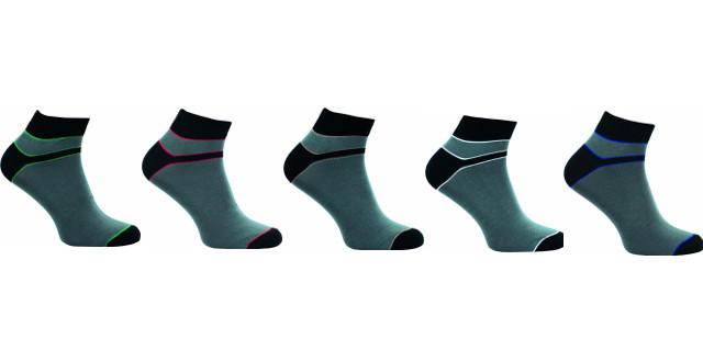 Bambusové ponožky 5 kusů v balení Novia Bambus 212 NA Velikost: 42-43