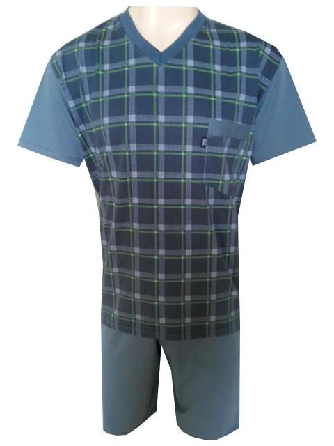Pánské Pyžamo Krátké FOLTÝN PK 80 Velikost: XL