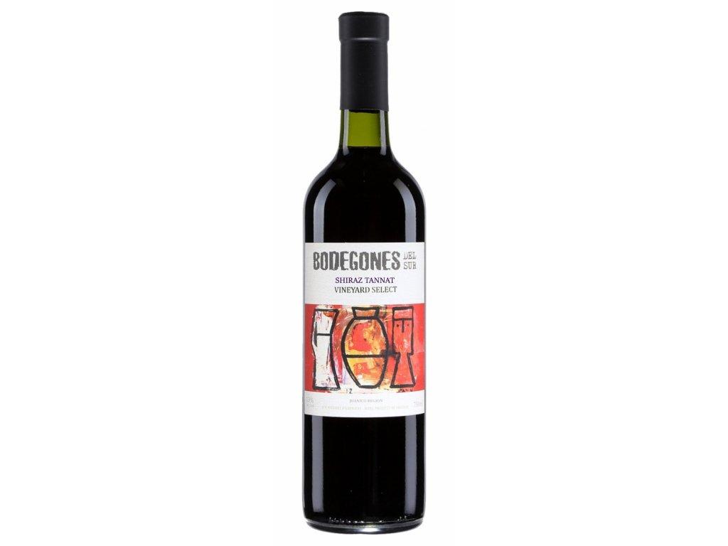 Bodegones del Sur Tannat / Shiraz Vineyard Select 2019
