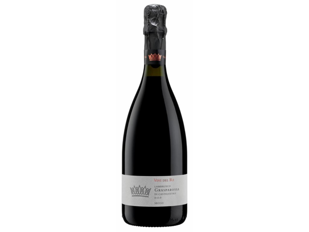 Settecani Vini del Re Lambrusco Grasparossa secco