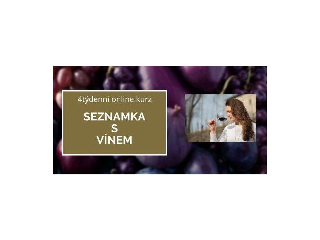 seznamka s vinem