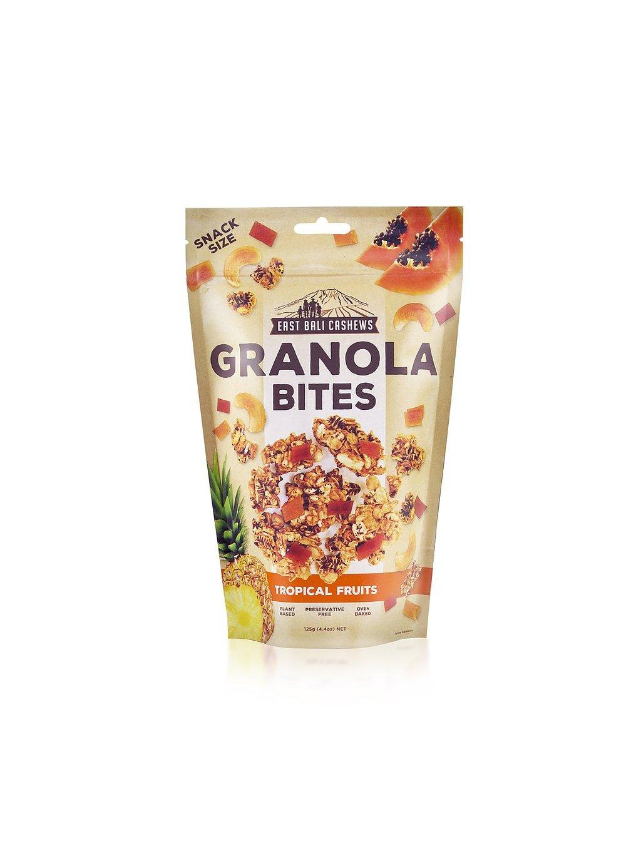 kesu granola bites tropical fruits 125 g 500 1
