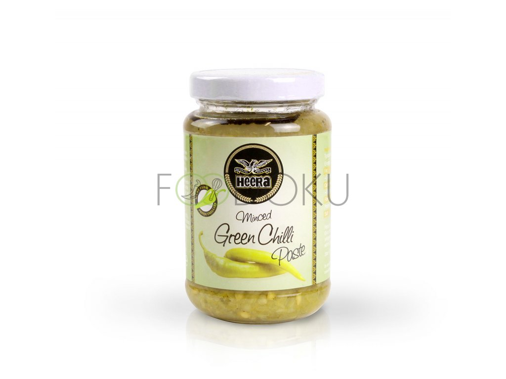 Heera Chilli paste green 210g