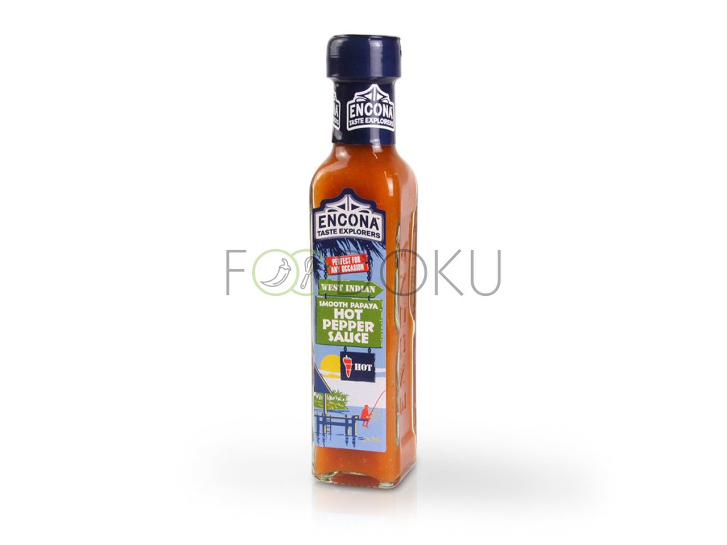 ENC Pepper papaya smooth hot sauce