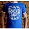 Tričko - Morava 17 (KNT) (Velikost XXL, Barvy Modrá)